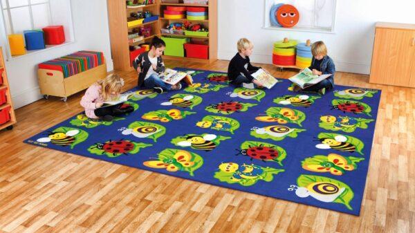 Back to Nature Square Bug Carpet