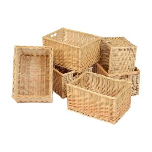 Wicker Baskets - Deep
