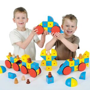3D Magnetic Blocks - Set of 48