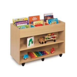 6 Bay Kinderbox with Shelf Storage