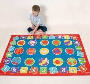Alphabet and Healthy Eating Play Mat 1.5x1M