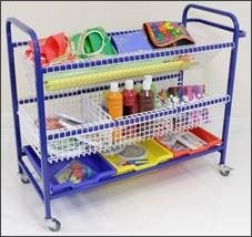 Art and Craft Storage Trolley