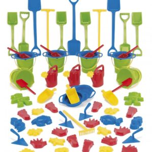 Sand and Water Play Set - 66 Piece