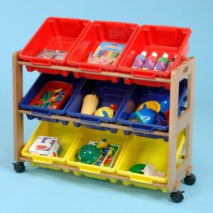 Single Classroom Tidy - 9 Tubs