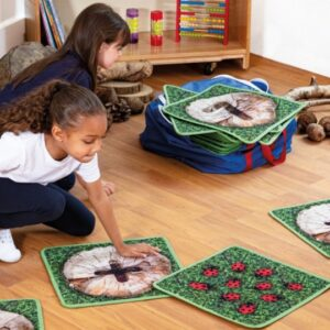 Woodland Counting Indoor/Outdoor Carpets