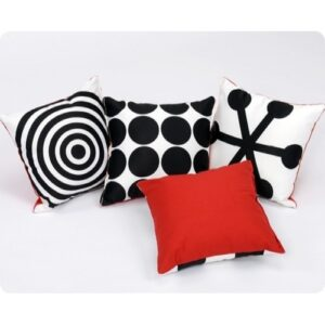 Geometric Perception Cushions - Pk 4