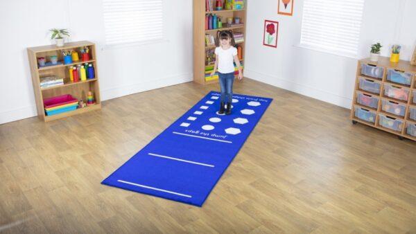 Hurdles and Hop Shapes Carpet