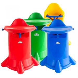 Kiddie Kone Plastic High Chair