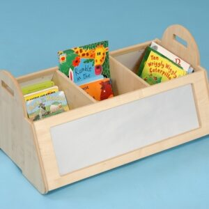 Long Maple Kinderbox with Mirrors