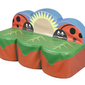 Back to Nature Ladybird 3 Seat Giant Sofa