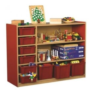 Milan 3 Level Multi Storage Unit with 9 Trays