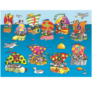 Mouse Boat Race Playmat