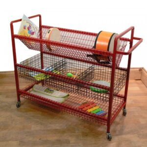 Music Storage Trolley