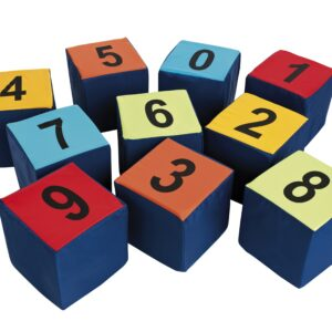 Numbered Seating Cubes - Pk of 10