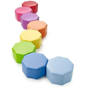 Octagonal Modular Seating - Set of 8