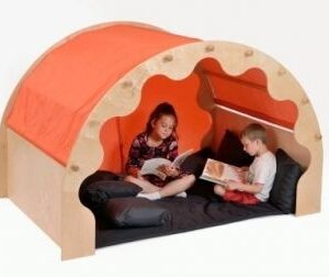 Play Pod with Curtains, Cushions & Mat