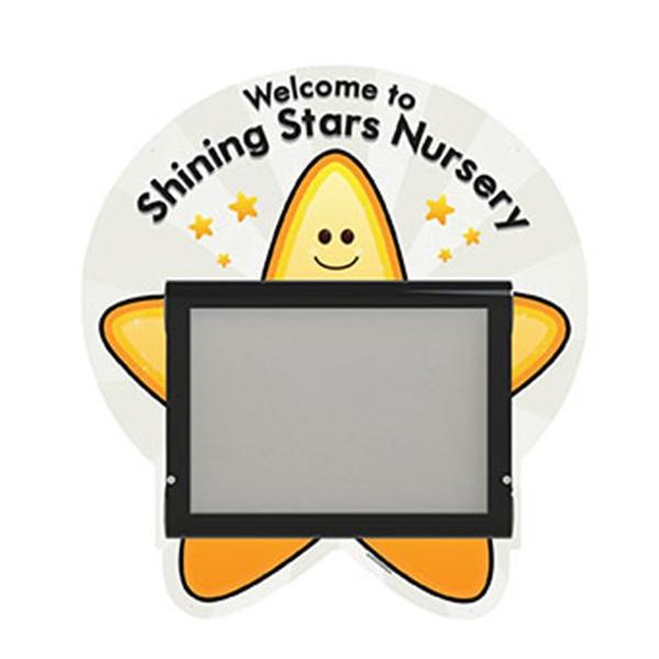 Outdoor Notice Board - Star