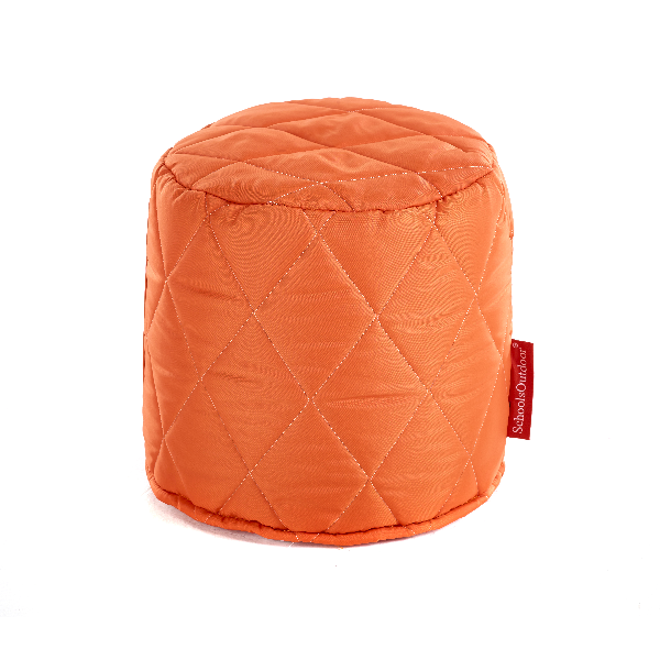 Small Quilted Poufs - Set of 6