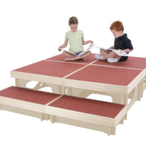 Stage Blocks - Set of 4 with 1 Step