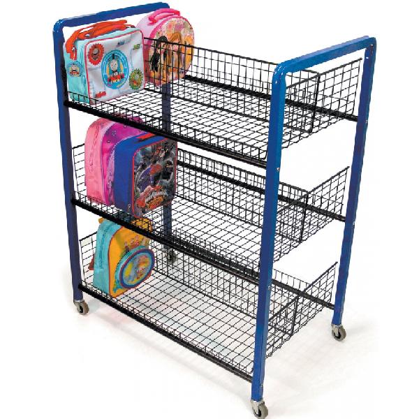 Double Sided Sturdy Lunchbox Trolley
