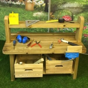 Construction Workbench with Vice