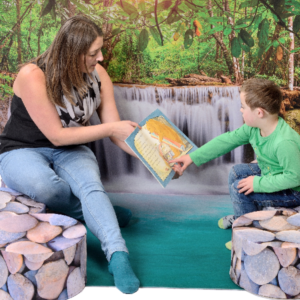 Waterfall Reading Corner OFFER