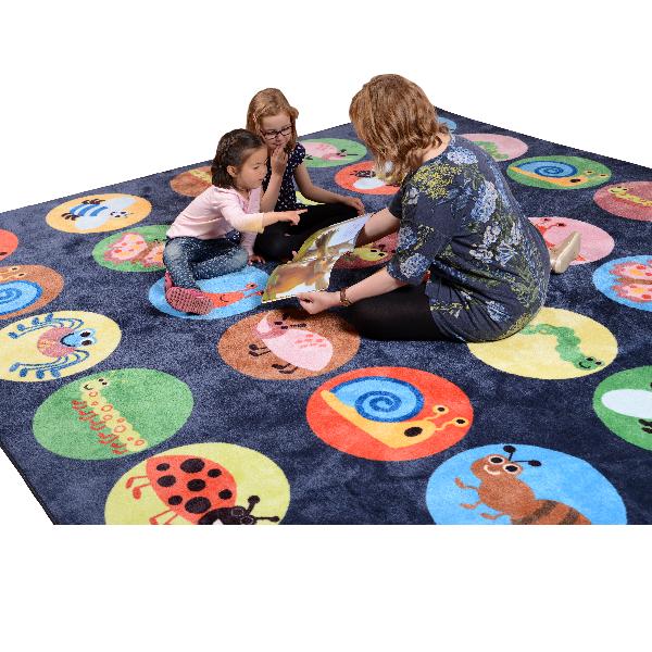 Placement Carpet - Mini Beasts - 3x3m - 30 Place