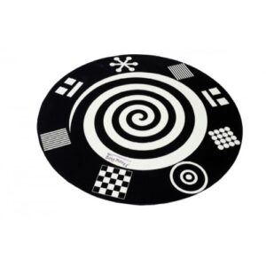 Visual Perception Black & White Playmat