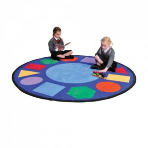Geometric Shapes Learning Rug