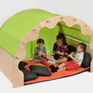 Play Pod with Curtains