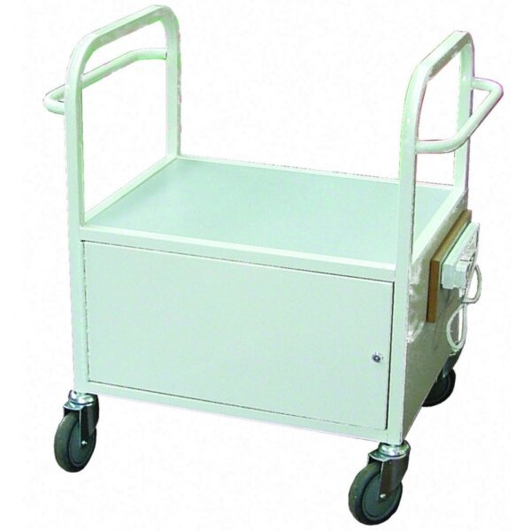 Small Lockable Cooking Trolley