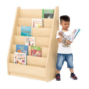 Elegant Tall Basic Book Storage Unit